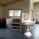 Camp dorms at Camp Alsing