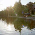Classic Maine summer camp shorefront