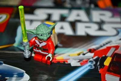 Star Wars day at camp