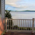 Camp Alsing lodge porch