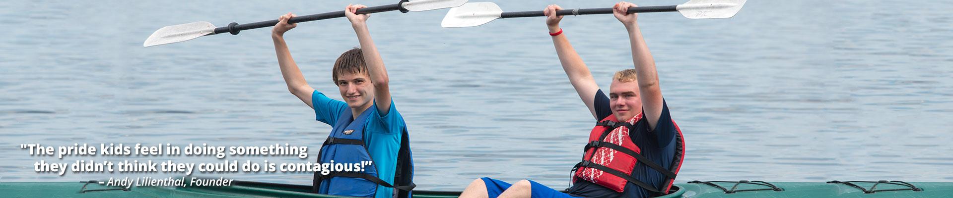 camp-alsing-maine-slide-kayaks