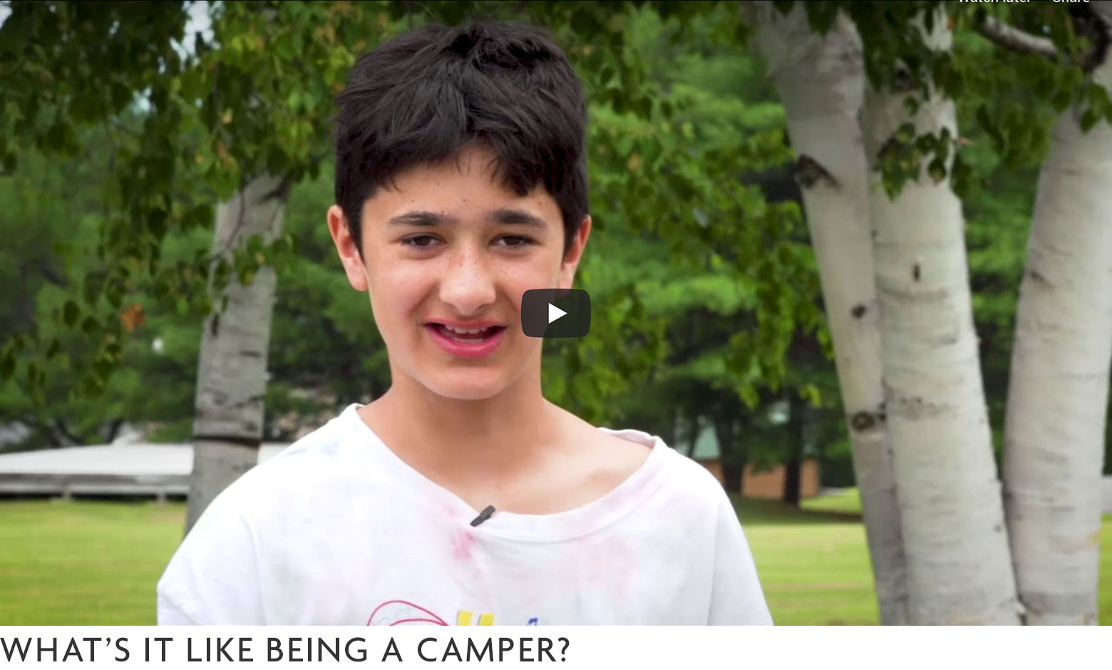 What's it like to be a Camper?